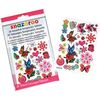 Creativity For Kids Snazaroo Temporary Tattoos Girls