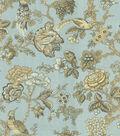 Waverly Lightweight Decor Fabric 54\u0022-Casablanca Rose/Moonstone