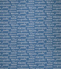 Home Decor 8\u0022x8\u0022 Fabric Swatch-Bella Dura Profit Ocean