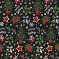 Christmas Cotton Fabric-Happy Holiday Be Merry