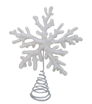 Handmade Holiday Christmas Frosty Seas Coral Tree Topper