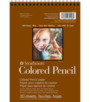 "Strathmore 6""x8"" 400 Series Colored Pencil Paper, , hi-res"