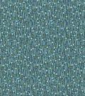 Keepsake Calico Cotton Fabric -Peacock Payas
