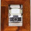Walnut Wood Frame 4X6-Distressed Mission