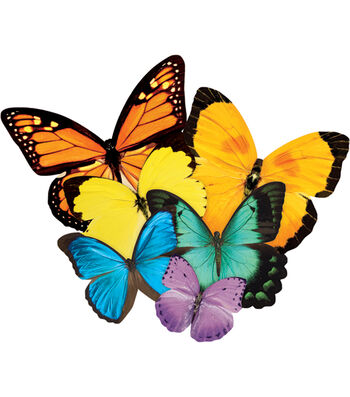 "Jigsaw Shaped Puzzle 500 Pieces 17""X23""-Butterflies"