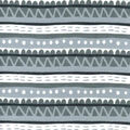 Nursery Flannel Fabric-Sweet Safari Stripes