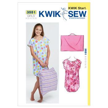 Kwik Sew Child Sleep & Lounge-K3551
