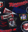 Minnesota Twins Fleece Fabric -Vintage