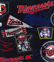 Minnesota Twins Fleece Fabric-Vintage, , hi-res