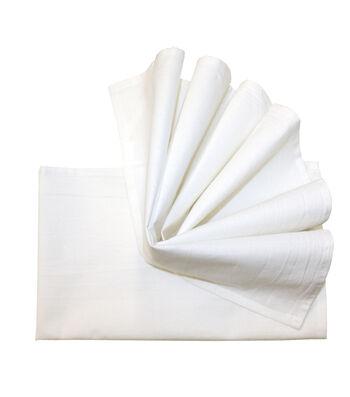 Stitch 'Em Up 2 Pack 18''x28'' Flour Sack Towels-White