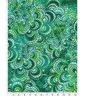 Snuggle Flannel Print Fabric 42\u0022-Tile Green Tie Dye