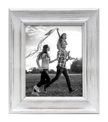 Wood Tabletop Photo Frame 8''x10''-White Wash