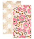 Webster\u0027s Pages My Happy Place Traveler Notebooks-Flowers & Wood