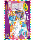 Crayola Giant Coloring Pages 12.75\u0022X19.5\u0022-Uni-Creatures
