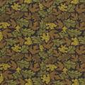 Harvest Cotton Fabric-Tossed Leaves 2 Glitter