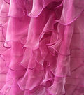 Ruffle Fabric-Deep Orchid
