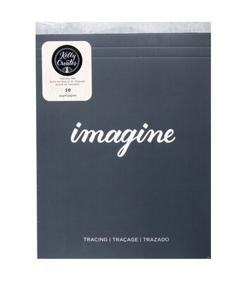 Kelly Creates 50-sheets 8.5''x11'' Tracing Paper Pad-Imagine
