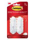 Command Medium Wire Hooks-White