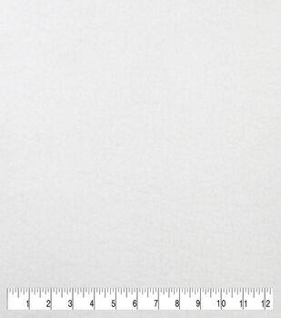 Luxury Faux Fur Sherpa Fabric -White