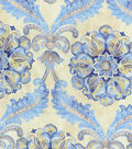 Waverly Upholstery Fabric 54\u0022-Over The Moon/Lapis