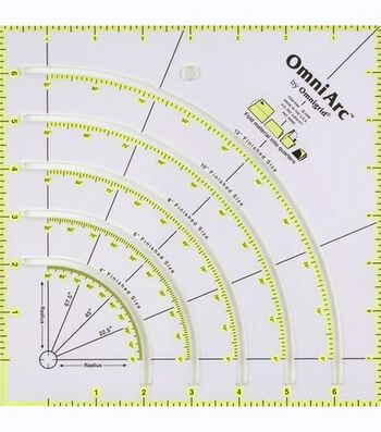 "Omnigrid OmniArc Non-Slip Circle Cutter 8"" x 8"""