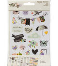 Simple Stories Bliss 8 pk 4\u0027\u0027x6\u0027\u0027 Sticker Sheets