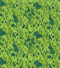 Keepsake Calico Cotton Fabric -Multi Green Abstract Blender