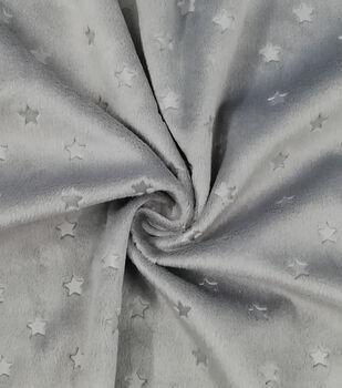 Soft & Minky Fleece Fabric -Stars