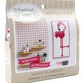 Sew Simple Handmade Happy Mini Quilt Kit-Flamingo