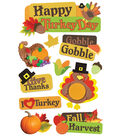Turkey Day-3D Stickers