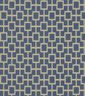 Home Decor 8\u0022x8\u0022 Fabric Swatch-Print Fabric Robert Allen Cats Cradle River