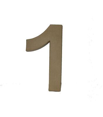 "Fab Lab Paper Mache 12"" Number"