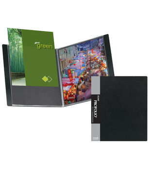 Itoya 11''x14'' Art Portfolio Display Book-Black