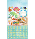 Paper House Sun Drenched StickyPix Cardstock Stickers with Foil Accents