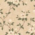 Lilith Beige Floral Branch Wallpaper
