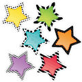 Creative Teaching Press Bold & Bright Stars 10\u0022, 12 Per Pack, 3 Packs
