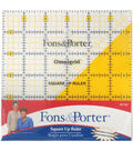 Fons&Porter Square Up Ruler 6\u0022 X 6\u0022