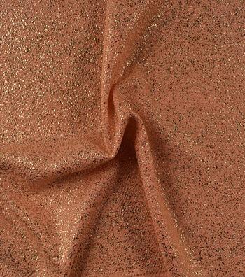 "Casa Embellish Gardenia Fabric 56""-Folied Crepe Peach Skin"