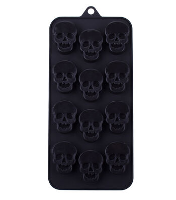 Halloween Silicone Candy Mold-Skulls