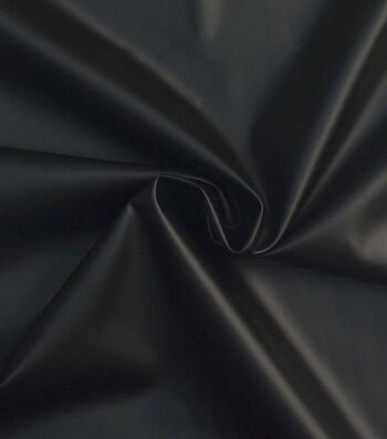 Yaya Han Cosplay Pleather Fabric -Black
