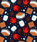 Snuggle Flannel Fabric-Night Time Smores