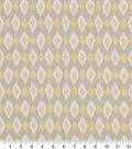 Robert Allen @ Home Print Swatch 55\u0022-Shayna Ikat Linen