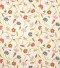 Home Decor 8\u0022x8\u0022 Fabric Swatch-Eaton Square Discs White And Bright