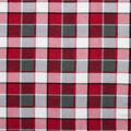 Super Snuggle Flannel Fabric-Red & Grey Blackwatch Plaid