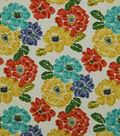 Robert Allen @ Home Lightweight Decor Fabric 55\u0022-Brushed Floral Calypso