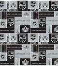Los Angeles Kings Fleece Fabric 60\u0022-Block