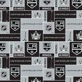 Los Angeles Kings Fleece Fabric -Block