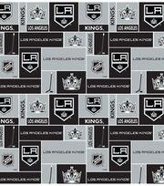 Los Angeles Kings Fleece Fabric -Block, , hi-res