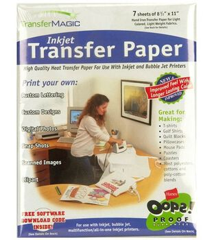 """Photo Effects Ink Jet Transfer Paper-8-1/2""""X11"""""""