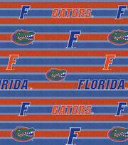 "University of Florida Gators Fleece Fabric 58""-Polo Stripe, , hi-res"